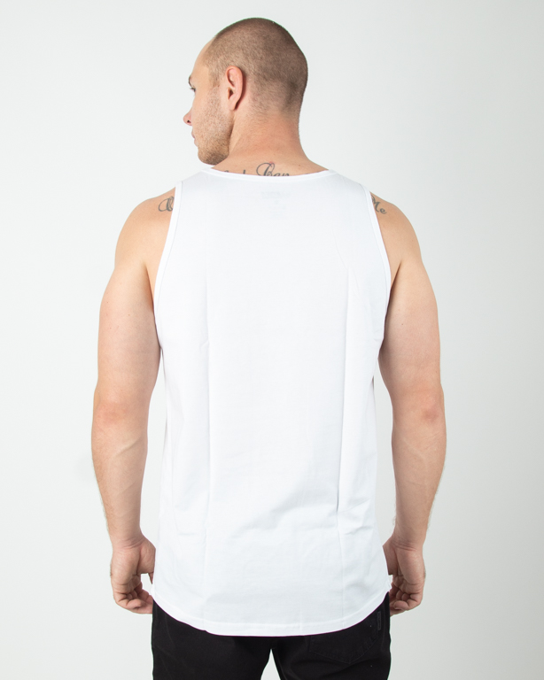 Tank Top Koka Fake Dye White