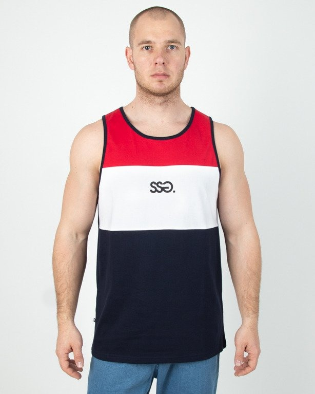 Tanktop SSG Colors Small SSG Navy-Red
