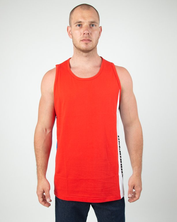 Tanktop Stoprocent Simplecut Red